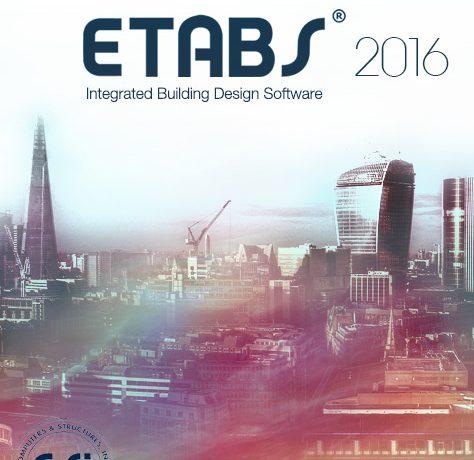 CSI ETABS Ultimate 18.1.1-2148 تحلیل و طراحی سازه ساختمانی
