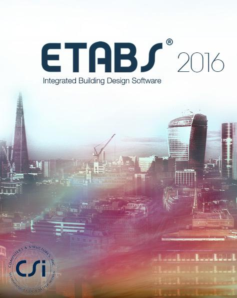 CSI ETABS 2016 v16.2.0 x86/x64 تحلیل و طراحی سازه ساختمانی