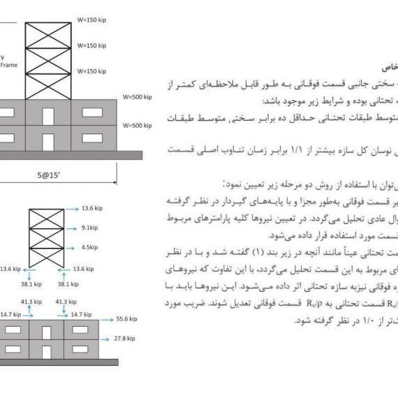 ترکیب سیستم سازه ای در ارتفاع + مثال